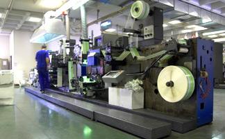 spot on printing press
